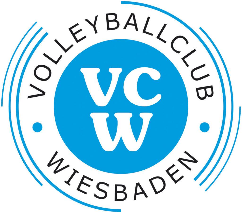 Logo 1. VC Wiesbaden. 1. Bundesliga